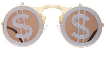 Cash-Obsessed Sunglasses