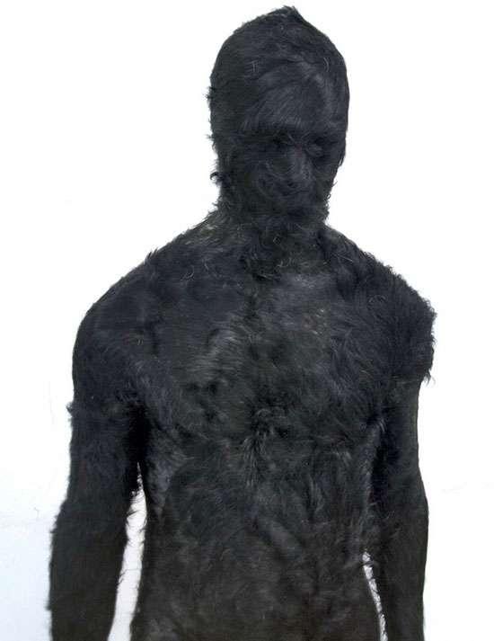 Fur Sculptures