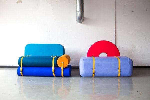 Technicolor Foam Furniture