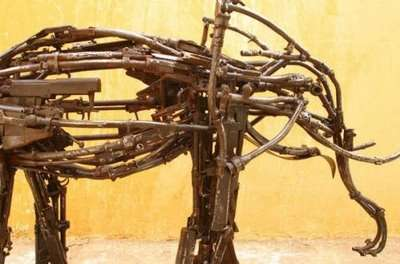 Art Made of Guns