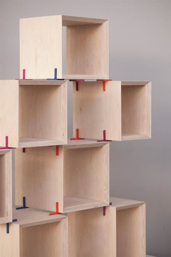 3D-Printed Furniture Joints
