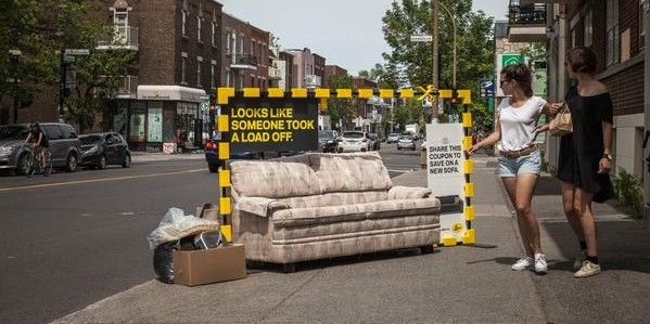 Discarded Furniture Ads
