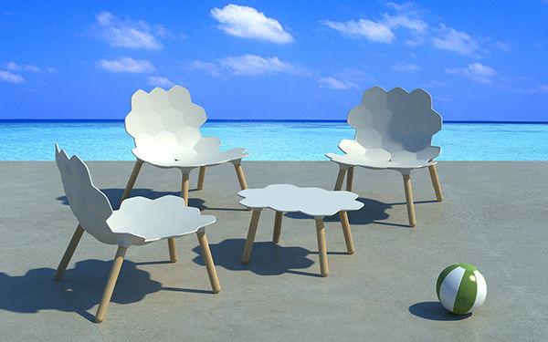 Playful Pixelated Furniture