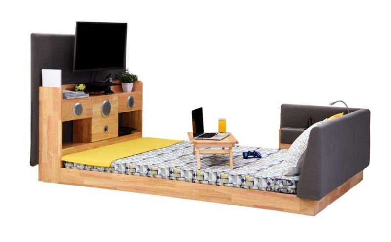 Tech-Focused Furniture Units