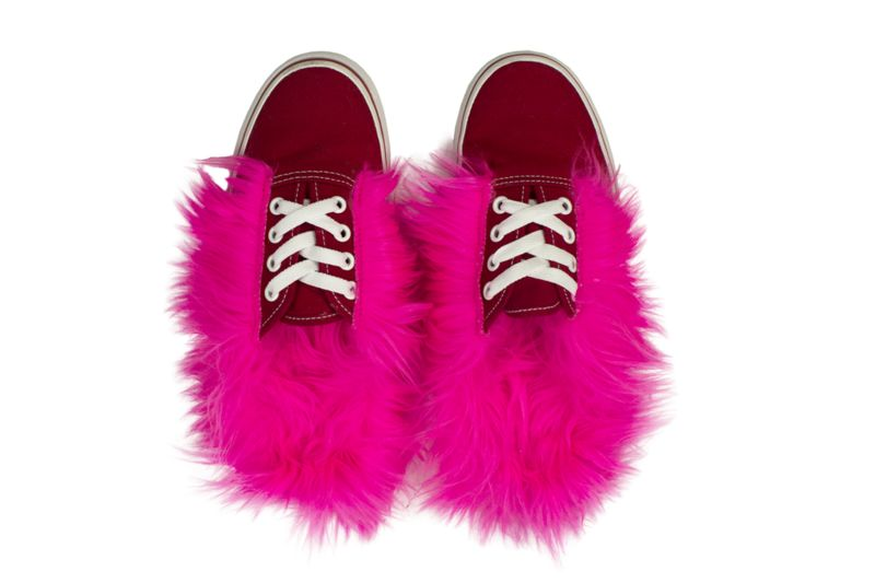 Furry Loafer Sneakers