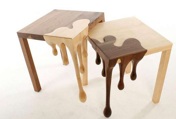 Wood Dripping Furniture
