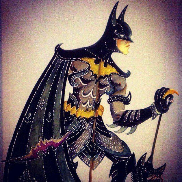 Heroic Shadow Puppet Art