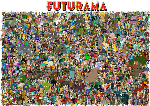 futurama fan art