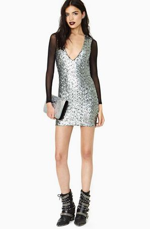 future calls sequin dress