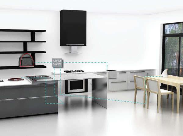 Futuristic Modular Refrigerators