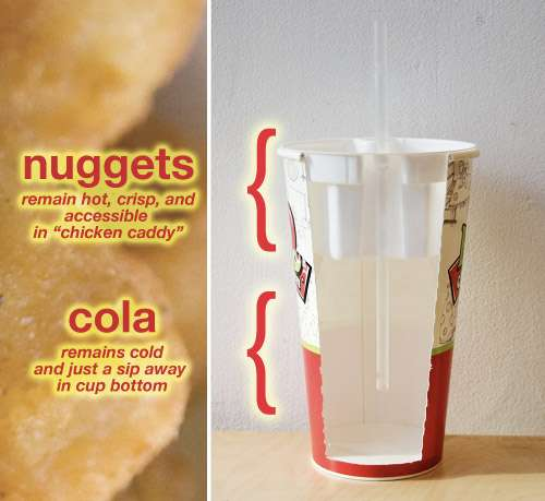 Nuggets & Cola in a Cup