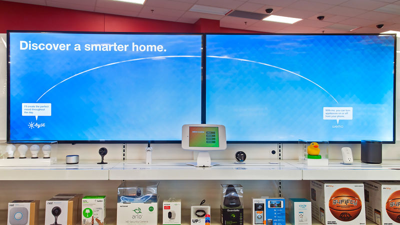 Smart Home Retail Showcases