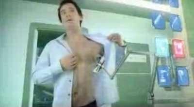 Futuristic Deodorant Ad