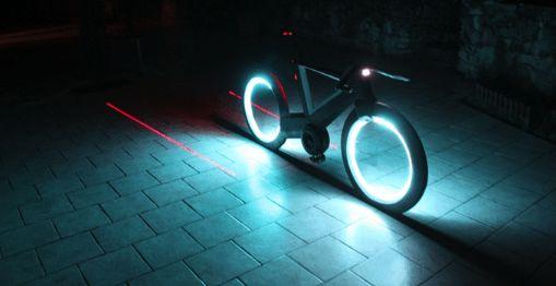 Futuristic Smart Bikes