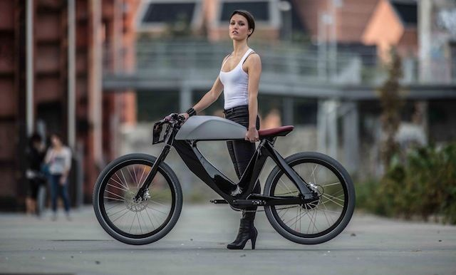 Futuristic Electric Bicycles
