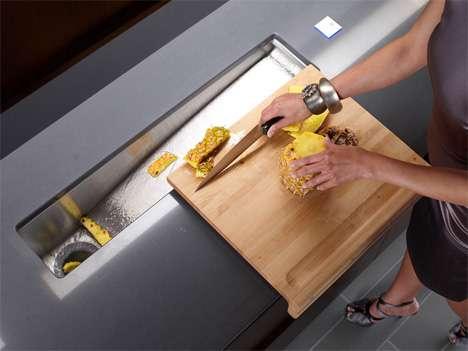 Electronic Interface Sinks High Tech Trough Sink