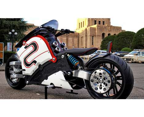 futuristic motorcycles motorcycle bikes racing tech anime hi bicycles electric bit robotic