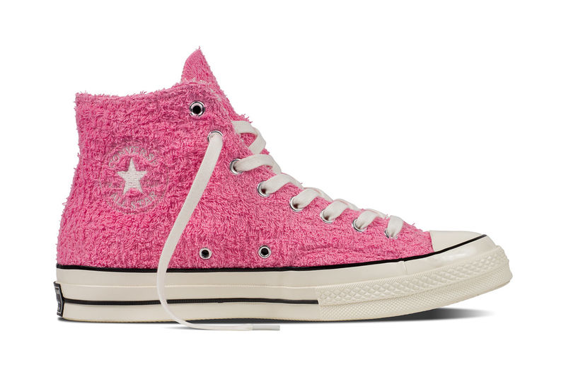 Fuzzy Terry Cloth Sneakers