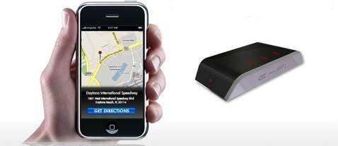 Worlds 1st iPhone & iTouch Wireless GPS