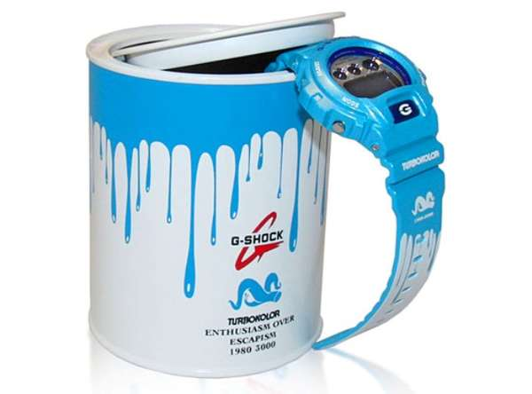 Paint Can Timepieces