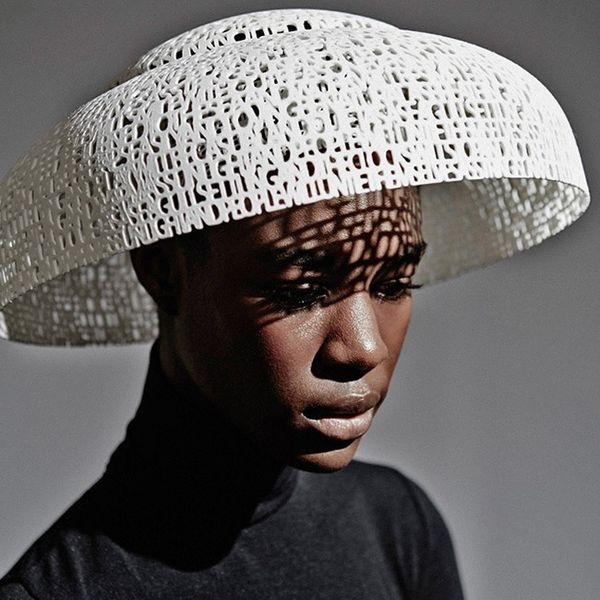 Sculptural 3D Print Accessories