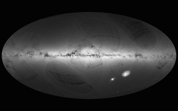 Expansive 3D Space Maps