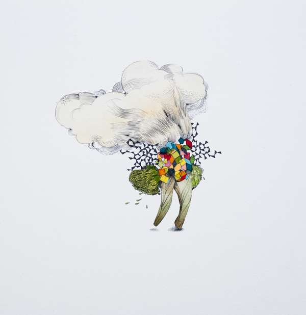 Minimalist Surrealist Art