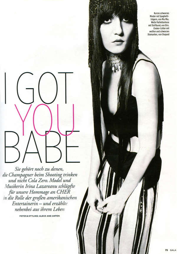 Gala Magazine 'I Got You Babe'