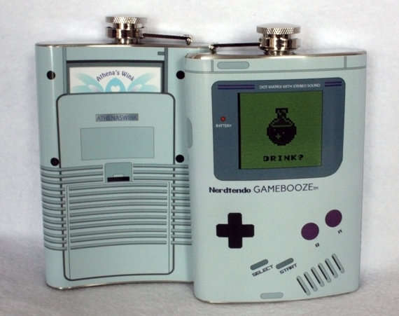 Video Game-Inspired Flasks