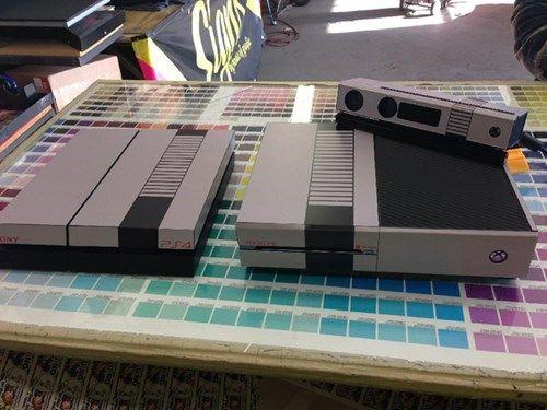 Retro Xbox Console Retro Game Console Skins