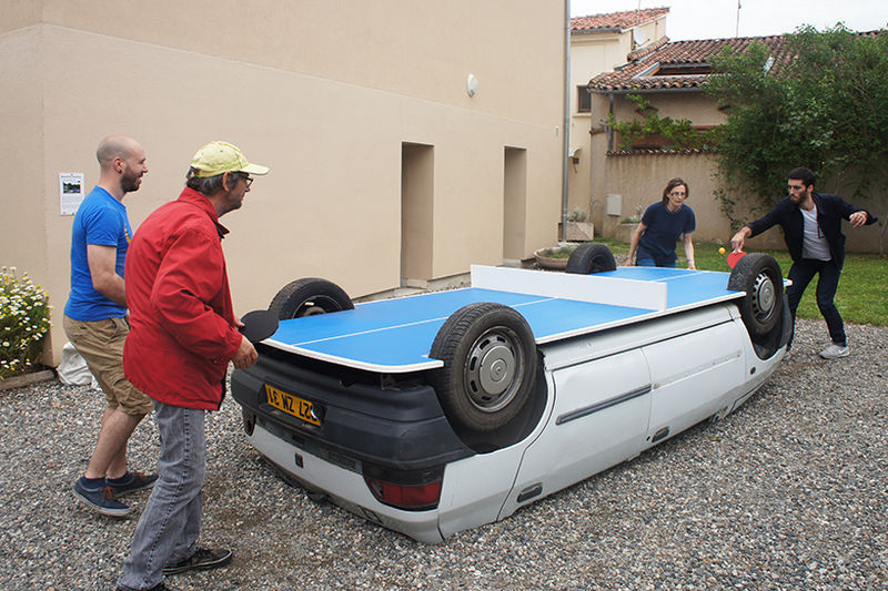 Ping Pong Table Cars