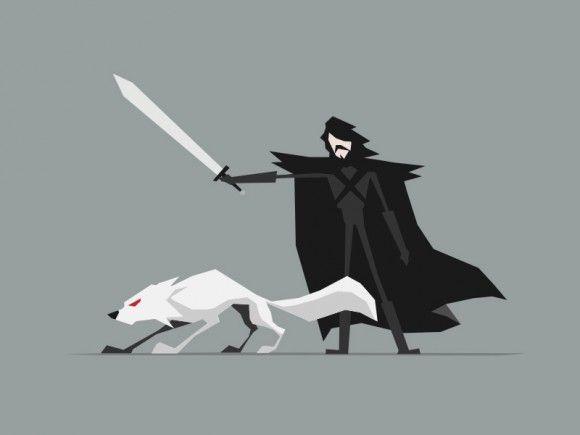 Minimalist Fantasy Characters