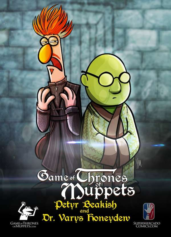 Fantasy Cartoon Mash-Ups