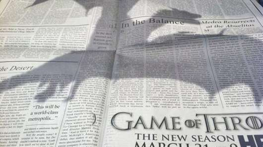 Game of Thrones New York Times