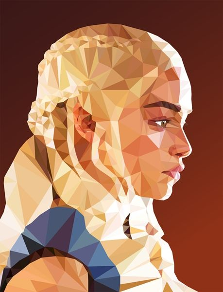 Polygon Fantasy Portraits