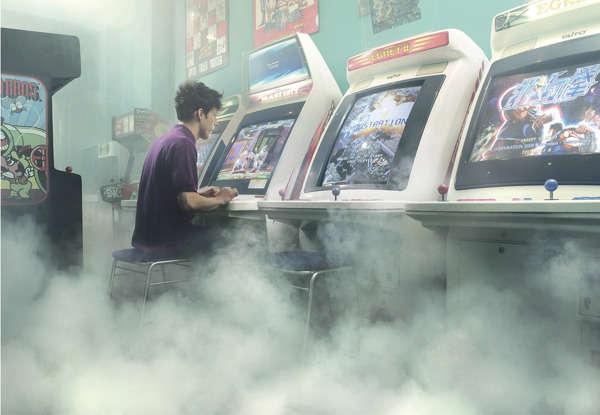 Foggy Arcade Photography