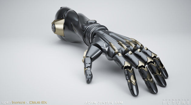 Bionic Gaming Hands