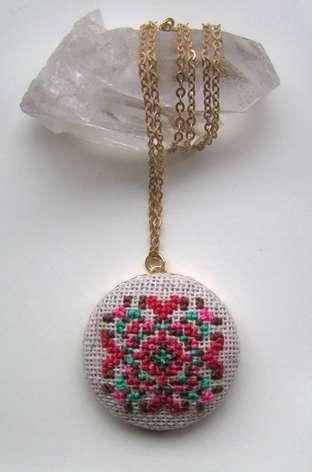 Stunning Stitchwork Jewelry
