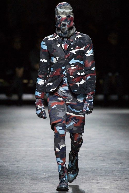 Camouflage-Covered Menswear