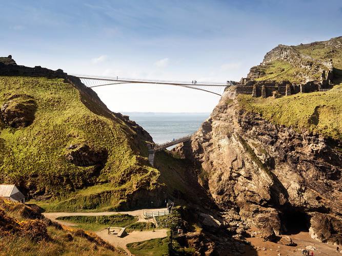 Suspended Gap Bridges