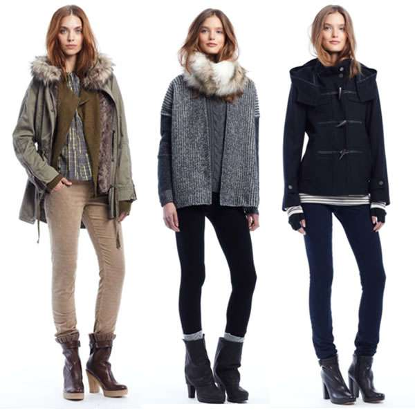 Over Sized Winter Fashion Gap Holiday Collection 2011
