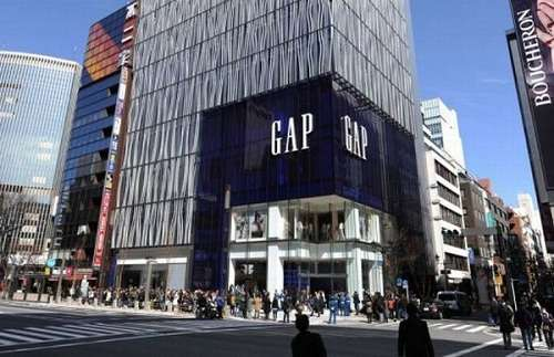 Gap Store in San Francisco