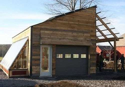 Eco Plant-Growing Garages