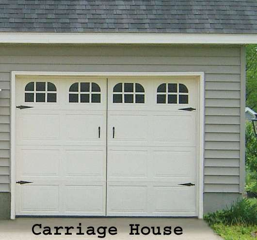 Garage Door Window Decals