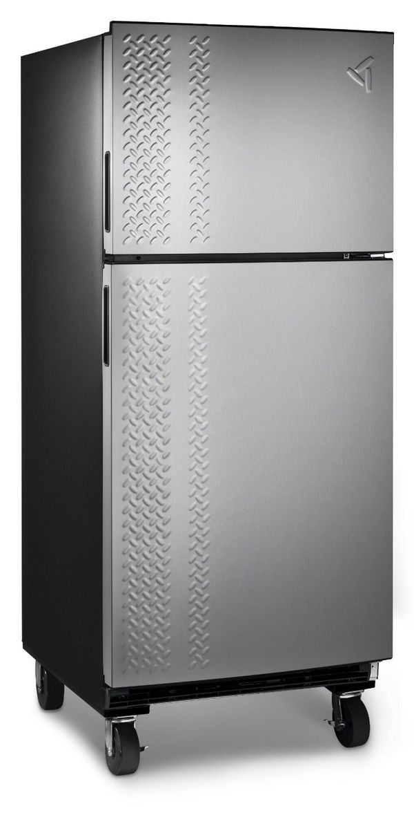 Garage Fridge: Luxe Industrialized Garage Fridges : Garage Fridges