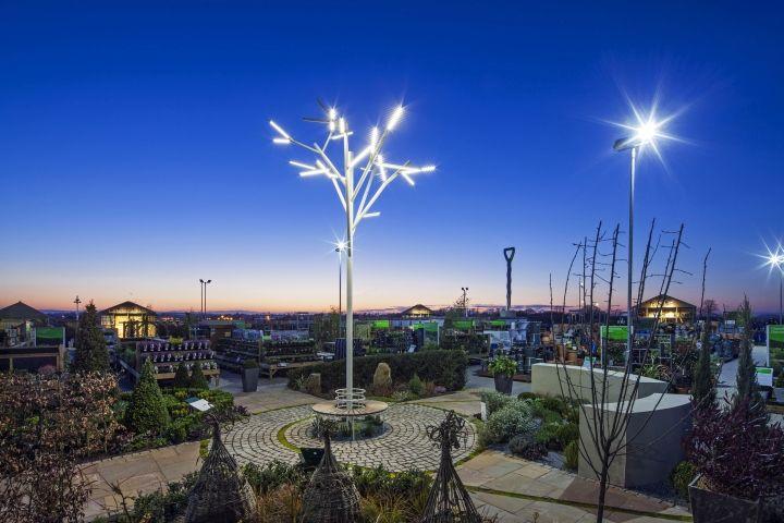 Sculptural Garden Centers