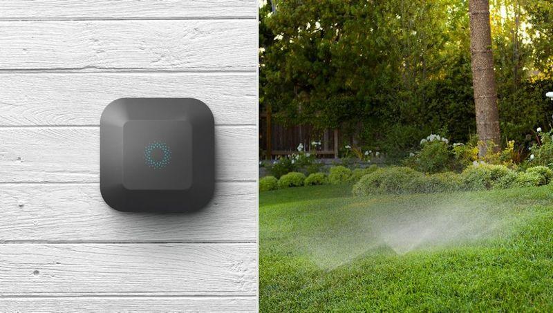App controlled sprinkler system
