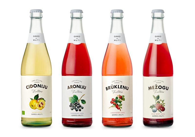 Baltic Fruit-Flavored Sodas