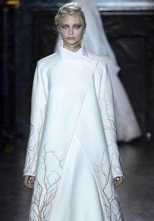 Gothic Monochromatic Couture