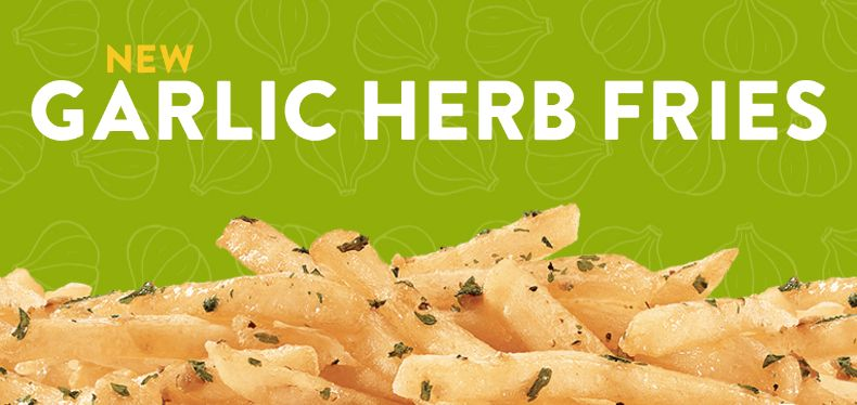 Herb-Topped French Fries